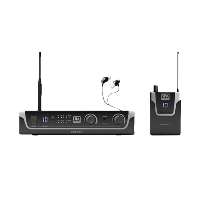 LD Systems Wireless In-Ear Monitoring System (B6 Frequency 655 - 679 MHz)