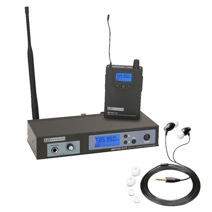 LD Systems Wireless In-Ear Monitoring System (B5 Frequency 584 - 607 MHz)