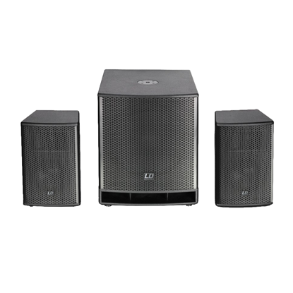 LD Systems Dave15G3 15 Inch Split PA System - Front