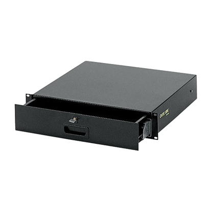 QuikLok RS670 2-U Rack Drawer in Black