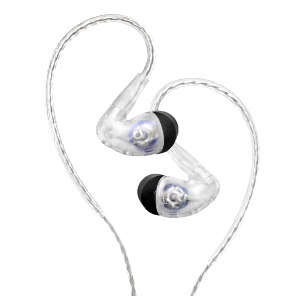 Audiofly AF100 MK2 Universal In-Ear Monitor - Clear