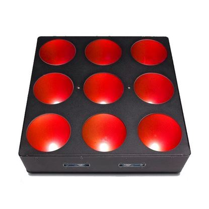 Chauvet Core 3x3 9 x 9 Watt TRI color LED Wash