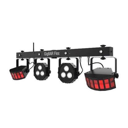 Chauvet Gig Bar Flex 3-In-One DJ Lighting Effects System