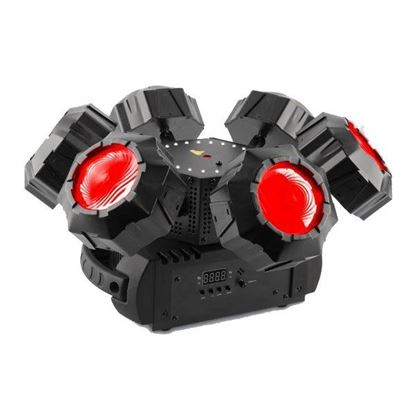 Chauvet Helicopter Q6 LED Multi-Effect Light with Strobe and Laser Effect
