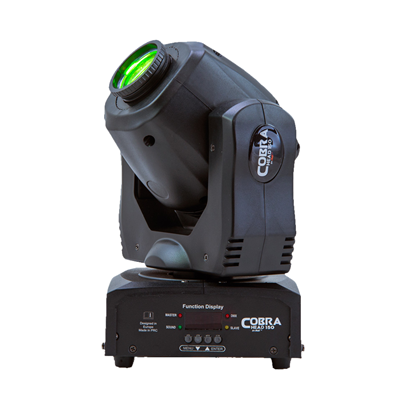 AVE Cobra Head 150 Moving Head Tri LED Gobo Spot Light 30W - Right