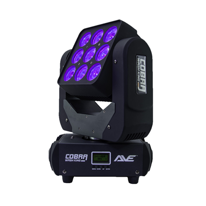 AVE Cobra Wash King 150 LED Moving Head Wash LEDs - Right