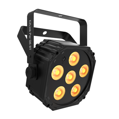Chauvet EZLink Par Q6 BT 6 x 3 Watt RGBA (4-in-1) LED Battery Operated Parcan with BT - Right