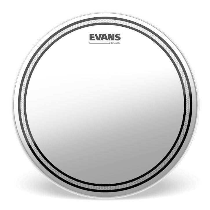 Evans 10 Inch EC2 Coated SST Drum Head - Front