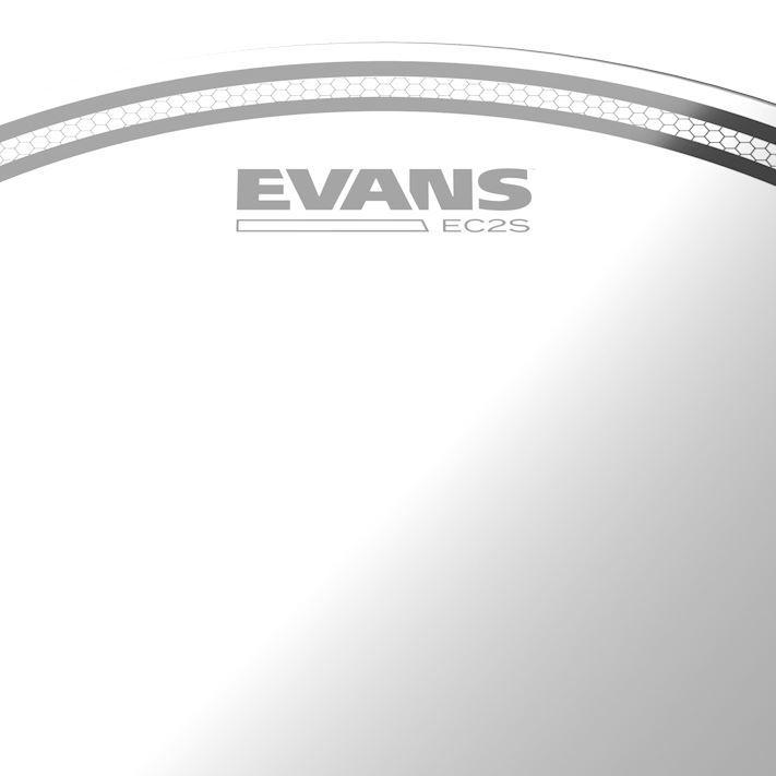 Evans 10 Inch EC2 Coated SST Drum Head