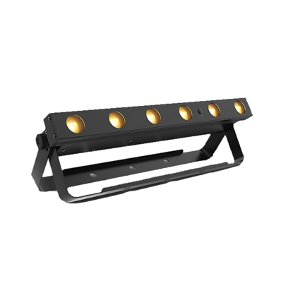 Chauvet EZLink Strip Q6 BT 6 x 3 Watt RGBA (4-in-1) LED Battery Operated Strip Light with BT - RIght