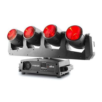 Chauvet Intimidator Wave 360 IRC Multi Moving Head Spot 4 x 12 Watt Quad LED