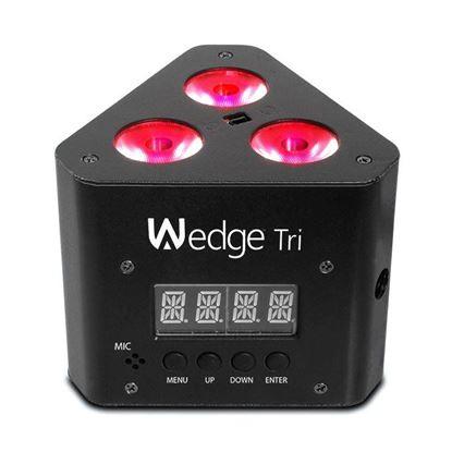 Chauvet Wedge TRI Compact 3 x 3 Watt TRI LED's Wash Light