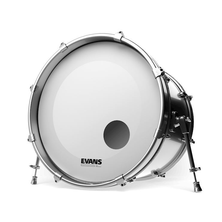 Evans EQ3 Resonant Black Bass Drum Head 18 Inch