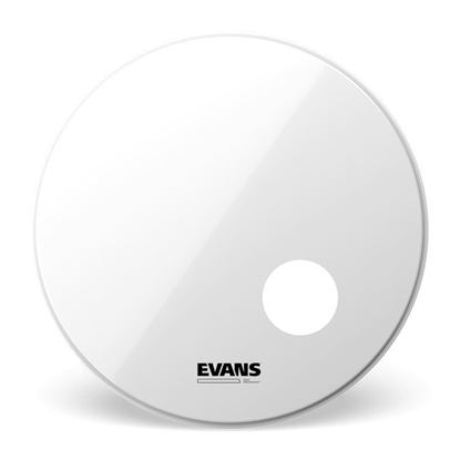 Evans 18 inch EQ3 Resonant Smooth White Drum Head - Front