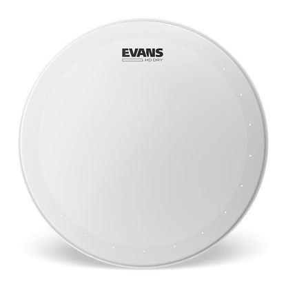 Evans 13 Inch Genera HD Dry Coated Drum Head - Front