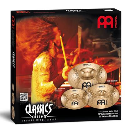 Meinl Classics Custom EMS Matched Cymbal Set