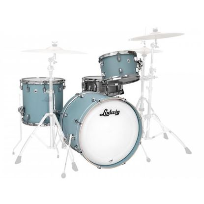 Ludwig NeuSonic 3-Piece 20 inch Shell Pack Drum Kit - Skyline Blue