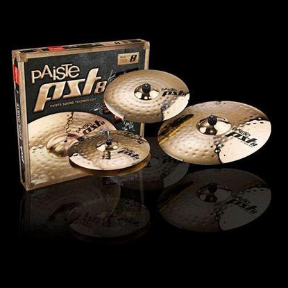Paiste PST 8 Universal Cymbal Set 14/16/20