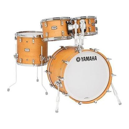Yamaha Absolute Hybrid Maple Euro Shell Pack Drum Kit in Vintage Natural
