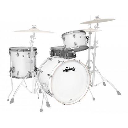 Ludwig NeuSonic 3-Piece 22 inch shell pack drum Kit - Aspen White