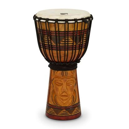 Toca Djembe 8 inch Rope-tuned - Tribal Mask Finish