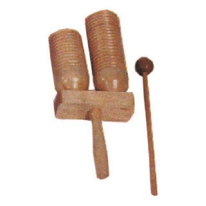 Mano Percussion Agogo Wood Blocks