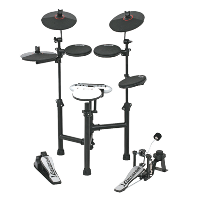 Carlsbro CSD130 Electronic Drum Kit (5 Piece Black)