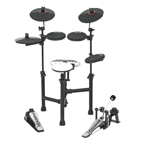 Carlsbro CSD130 Electronic Drum Kit (5 Piece Black)