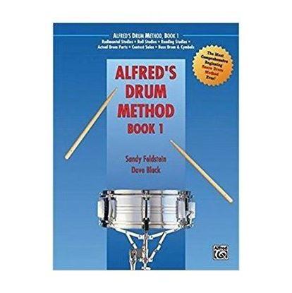 Drum Book Alfred's Drum Method Book 1