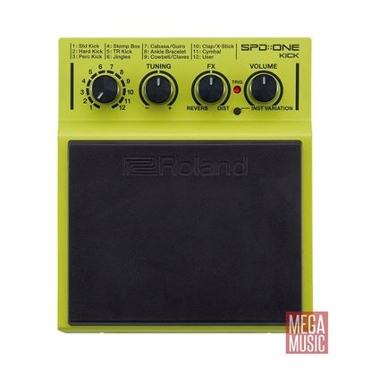 Roland SPD ONE KICK Percussion Pad - top view