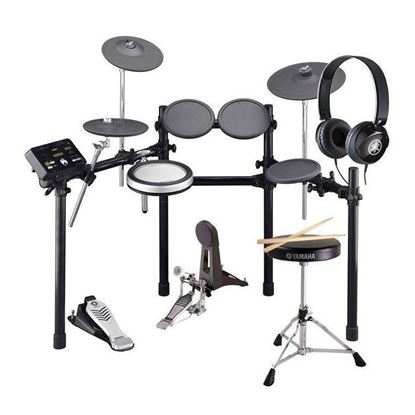 Yamaha DTX522K Electronic Drum Kit (with FREE HPH50 Headphones, Drum Stool, Pedal & Sticks)