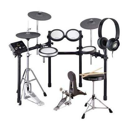 Yamaha DTX562K Electronic Drum Kit with FREE HPH50 Headphones, Drum Stool, Pedal & Sticks)