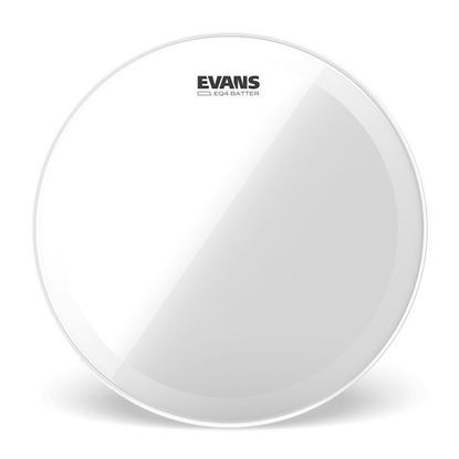 Evans 16 inch EQ4 Batter Clear Drum Head - Front