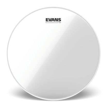 Evans 12 Inch Genera G2 Clear Drum Head - Front