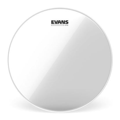 Evans G12 Clear Drum Head, 15 Inch - Front