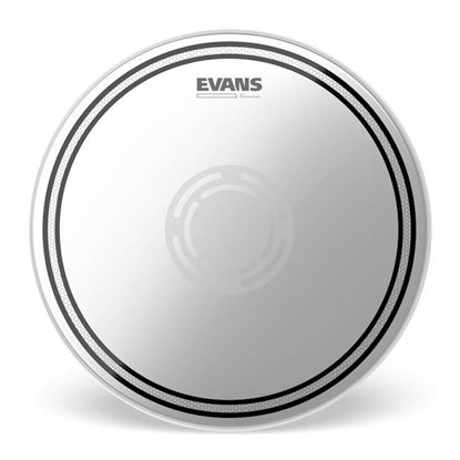 Evans 14 Inch EC2 Reverse Dot Snare Batter Drum Head - Top