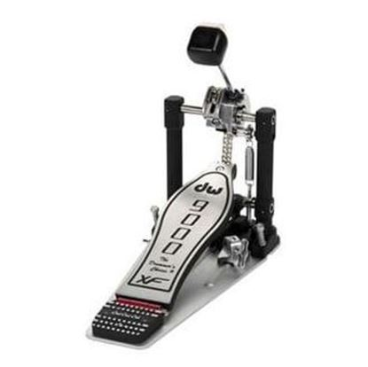 DW 9000 Series Single Bass Drum Kick Pedal with Extended Footboard
