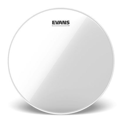 Evans 14 Inch Genera G1 Clear Drum Head - Top