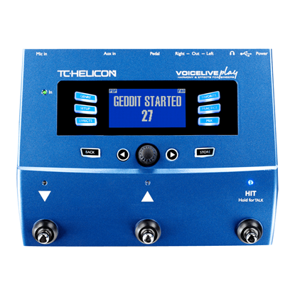 TC Helicon VoiceLive Play - Vocal Effects Pedal - Front