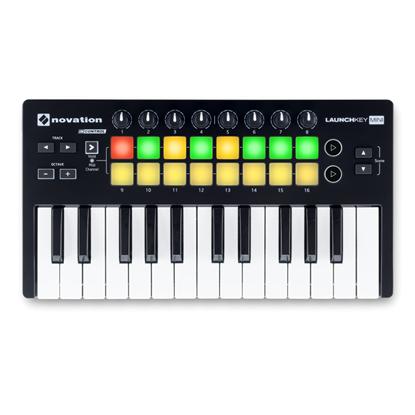 Novation Launchkey Mini MK2 MIDI Controller Keyboard - 25 Mini Keys