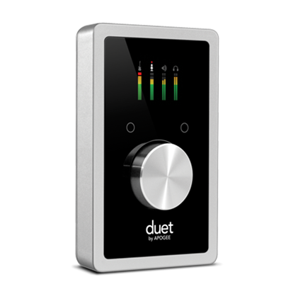 Apogee Duet Professional Audio Interface for Mac, PC & iOS - Front