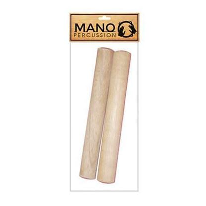 Mano Percussion Hardwood Round Claves