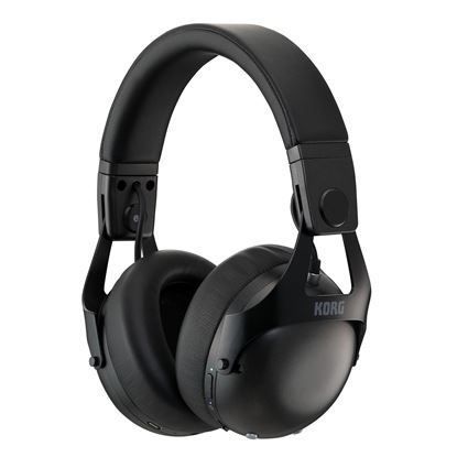 Korg NC-Q1 Smart Noise Cancelling Headphones in Black - Angle