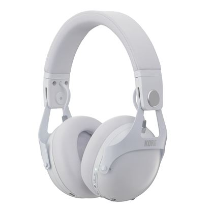 Korg NC-Q1 Smart Noise Cancelling Headphones in White - Front