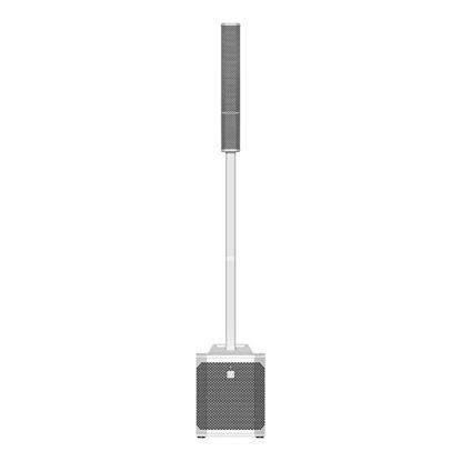 Electro-Voice EVOLVE Portable Powered Column System - White - Front