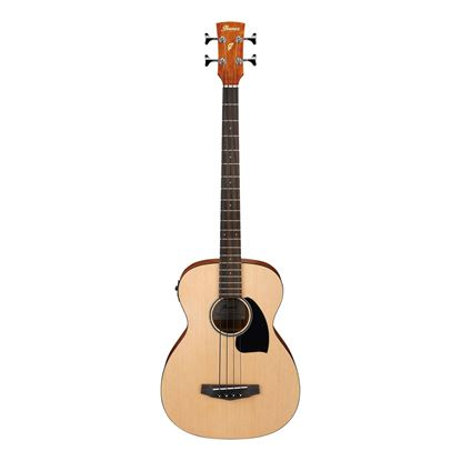 Ibanez PCBE12 OPN Acoustic Bass - Open Pore Natural - Front