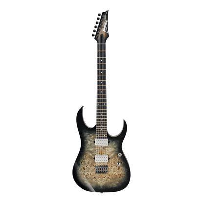 Ibanez RG1121PB CKB Electric Guitar  - Charcoal Black Burst - Front