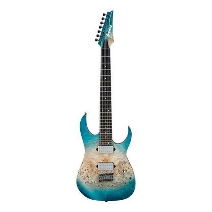 Ibanez RG1127PBFX CIF Electric Guitar  - Caribbean Islet Flat - Front