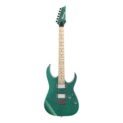 Ibanez RG421MSP TSP Electric Guitar  - Turquoise Sparkle - Front
