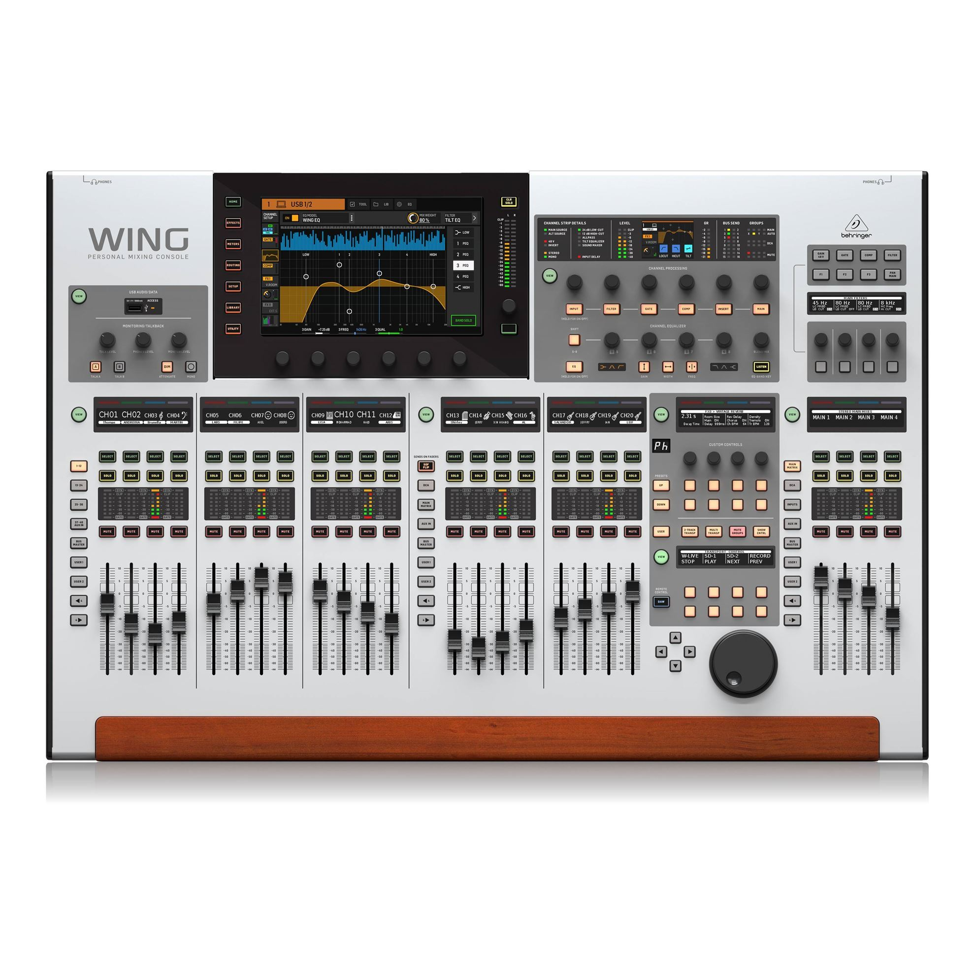 Behringer Wing Digital Mixing Console - Top